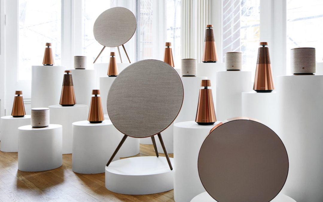 The Bronze Collection van Bang & Olufsen